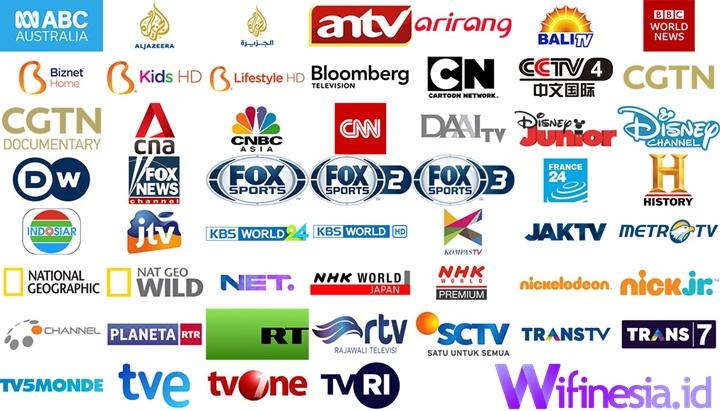 Daftar Saluran TV Berlangganan Biznet Basic