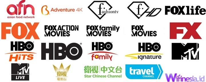 Daftar Saluran TV Berlangganan Biznet Plus