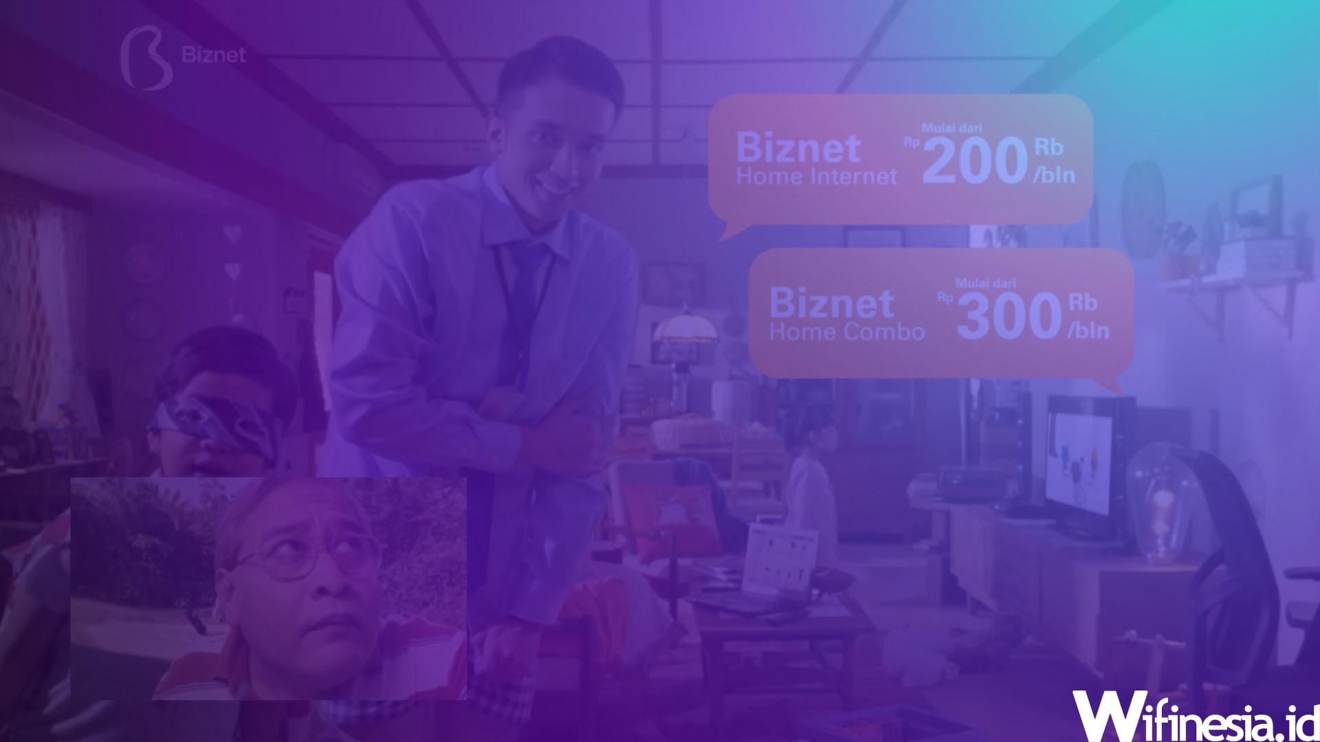 Harga Paket Biznet WiFi Rumah 2020 [75 Mbps 325 Ribu]