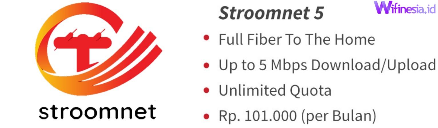 Harga Paket Stroomnet 5 Layanan Internet WiFi Murah Untuk Di Rumah Dari PLN Icon+