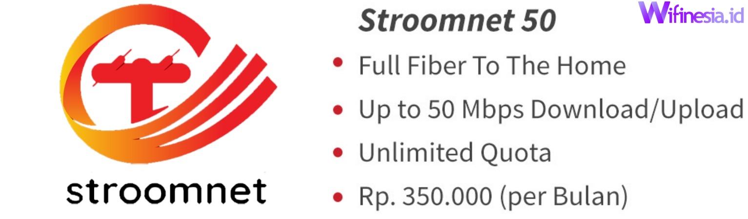 Harga Paket Stroomnet 50 Layanan Internet WiFi Murah Untuk Di Rumah Dari PLN Icon+