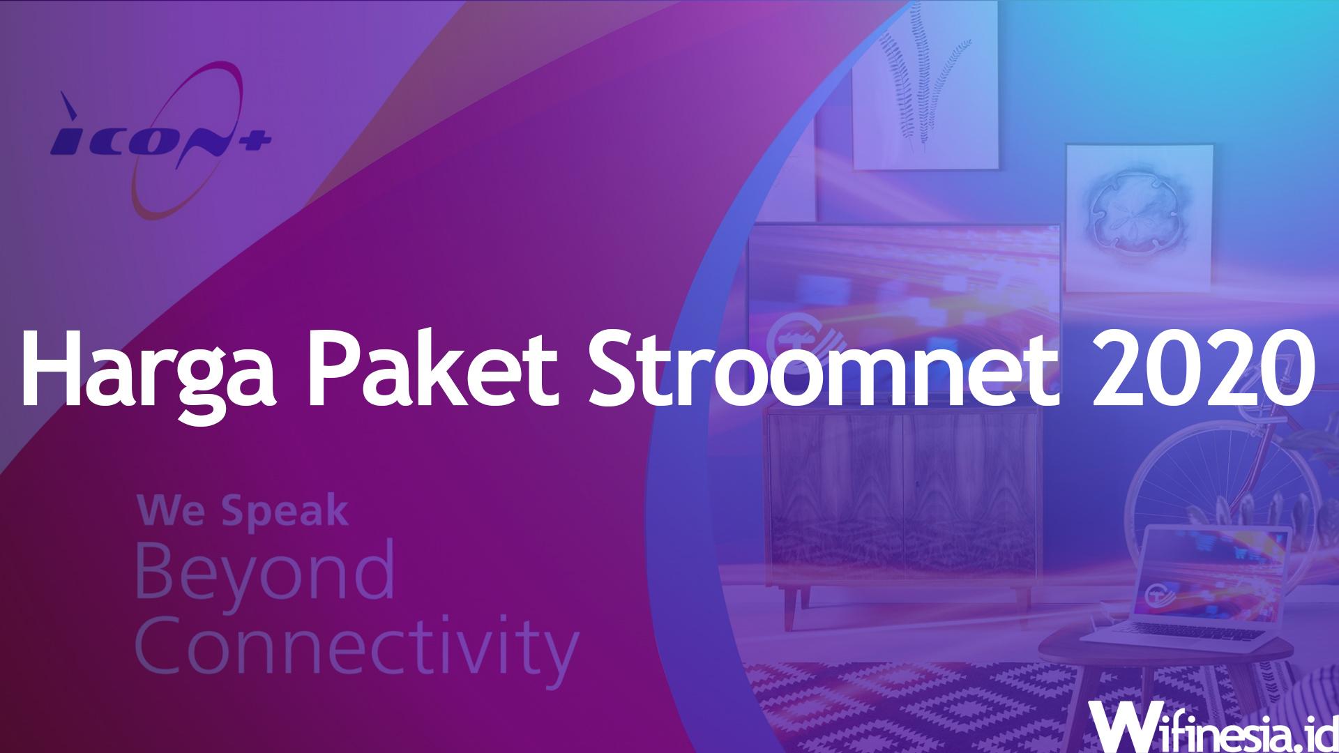 Harga Stroomnet Paket Internet WiFi Murah Dari PLN