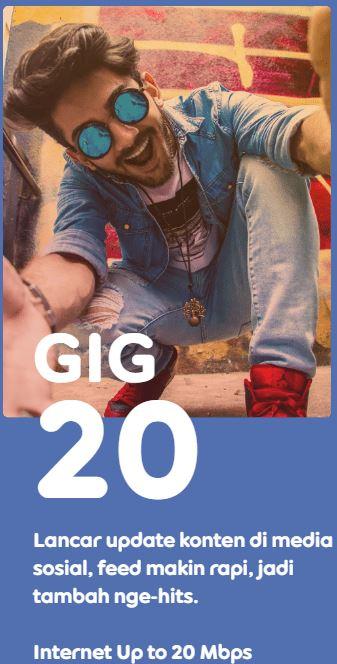 Indosat GIG 20