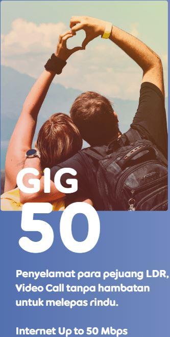 Indosat GIG 50