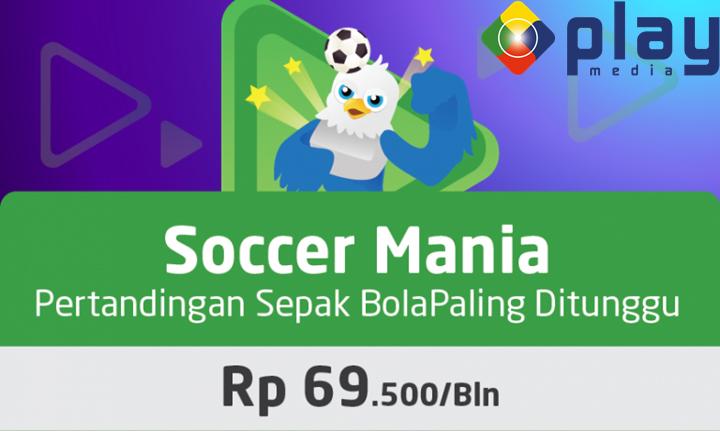 Soccer Mania Tayangan Pertandingan Sepak Bola