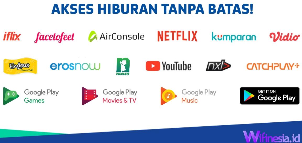 Fitur TV Berlangganan XL Home Fiber