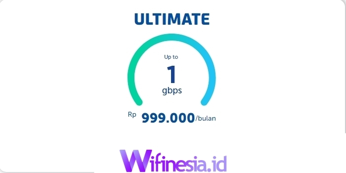 Harga Paket WiFi XL Home FIber Ultimate 1 Gbps