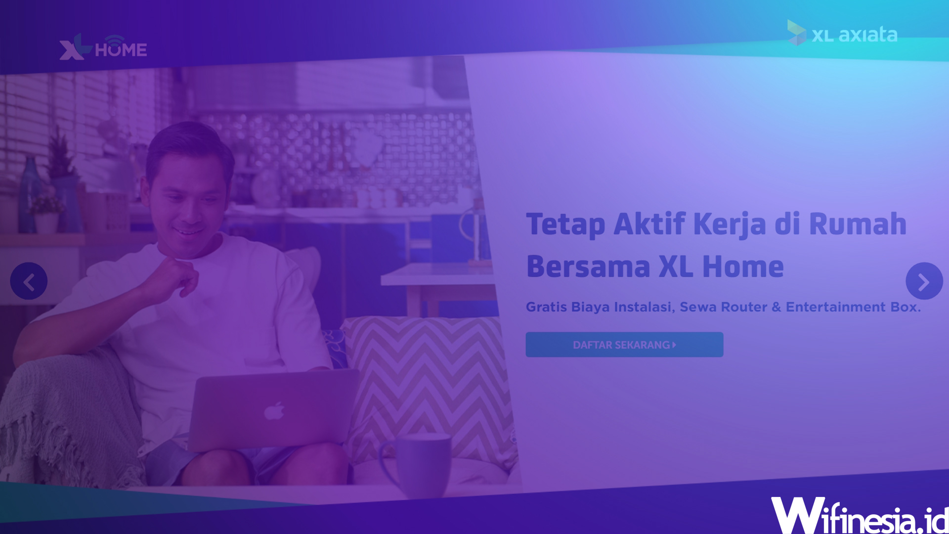 Harga Paket XL Home Fiber 2020 WiFi Murah Unlimited