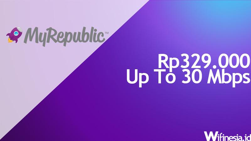 harga wifi murah MyRepublic Value 30 Mbps