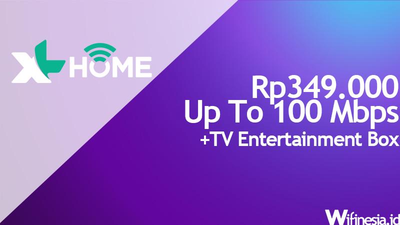pasang wifi murah XL Home Fiber Light 100 Mbps