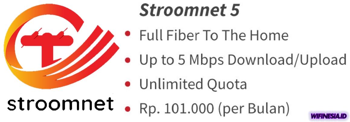 WiFi Murah Untuk Di Rumah 100 ribuan PLN Stroomnet 5Mbps