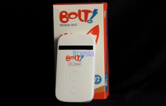 WiFi Portable Terbaik Paling Murah - BOLT ZTE MF90