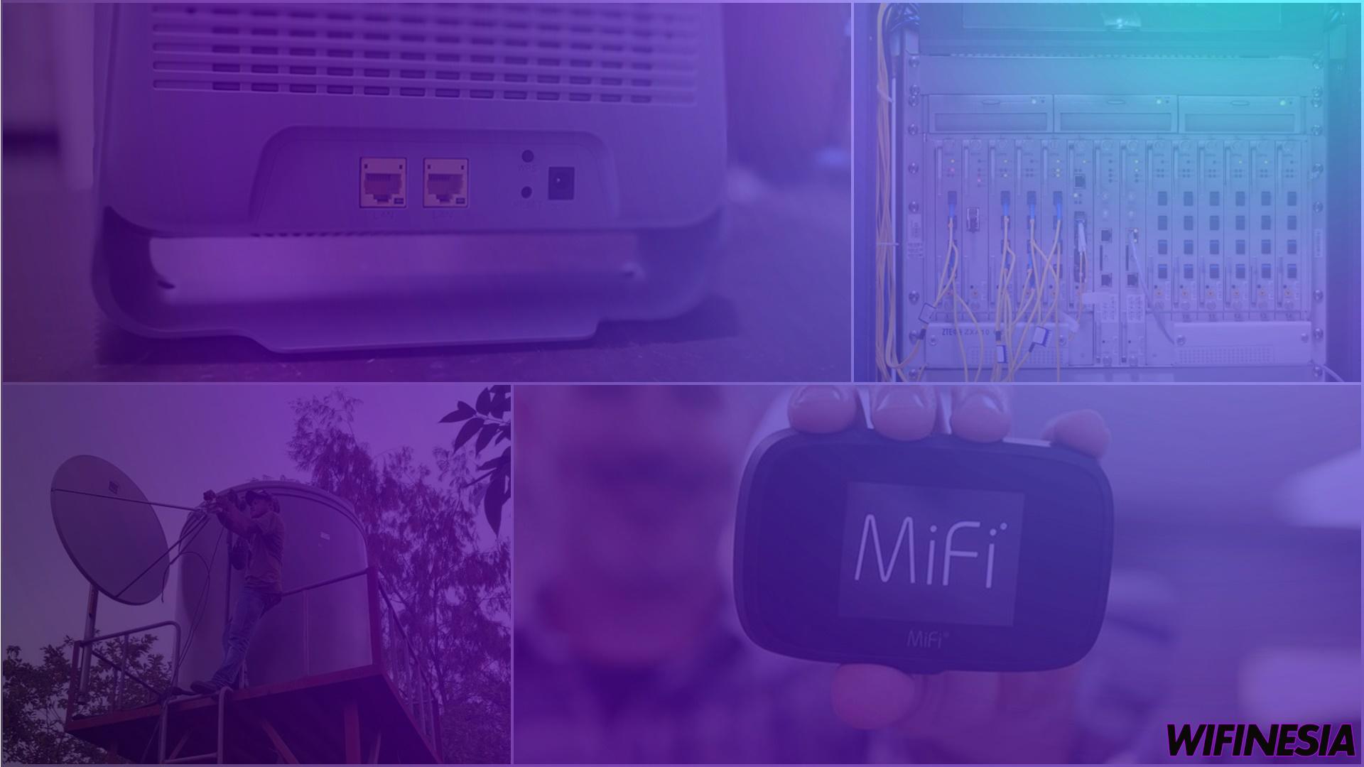 Jenis-Jenis Layanan Internet WiFi Untuk Di Rumah